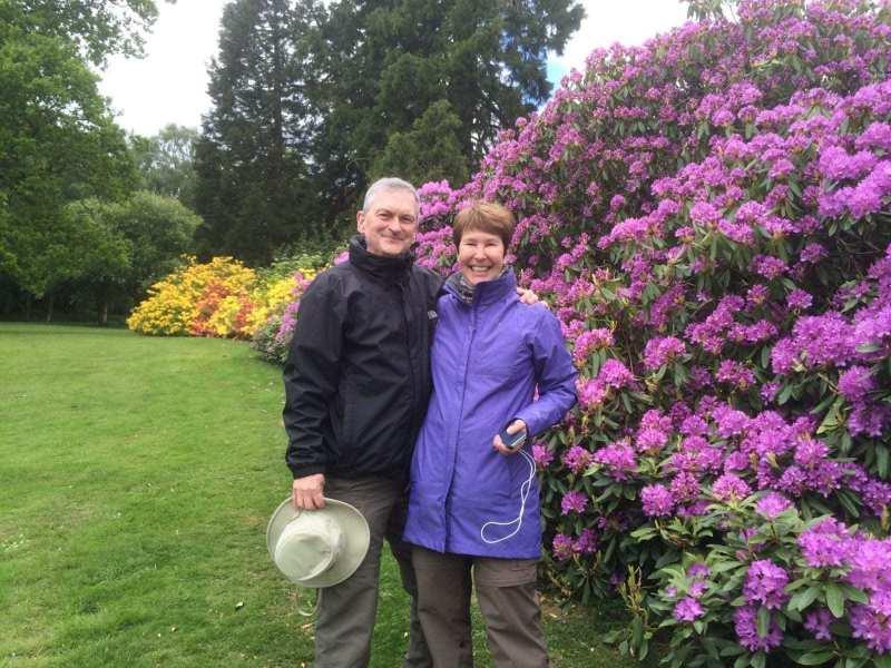 Crathes-Castle-gardens-on-tour-couple-1-scaled