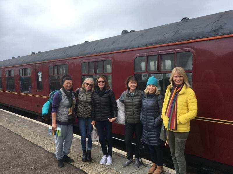 Steam-Train-six-ladies-scaled