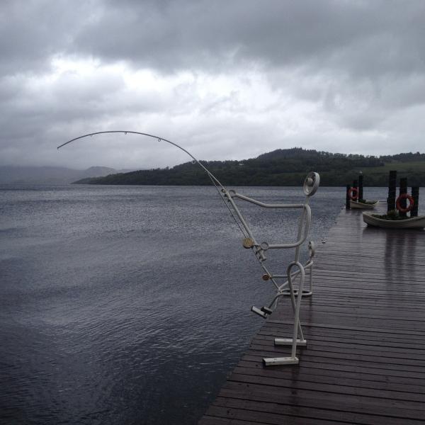Loch-Lomond-sculpture-grey-day