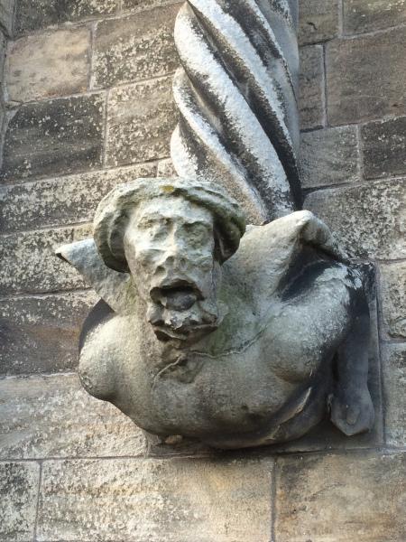 Stirling-castle-gargoyle