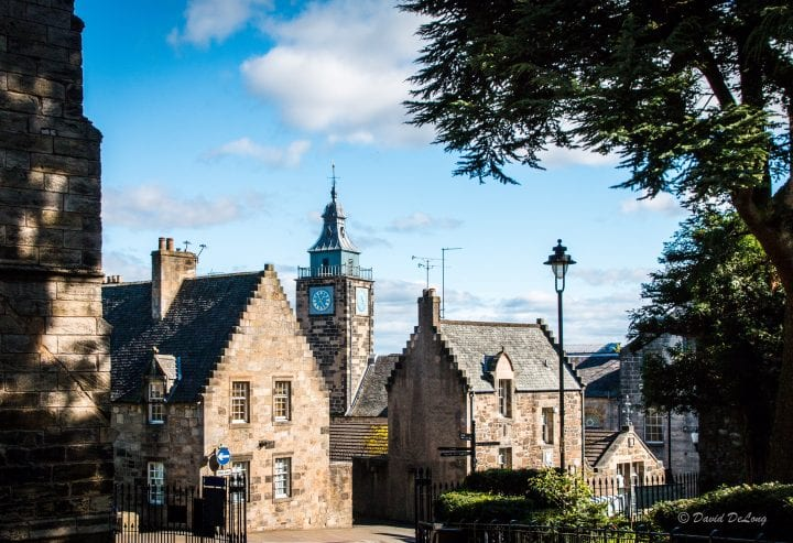 Historic Stirling in the heart of Scotland