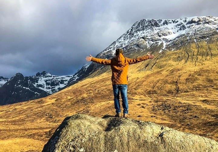 Embracing the Cuillins