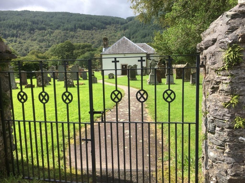 Kilmodan Church & Gate
