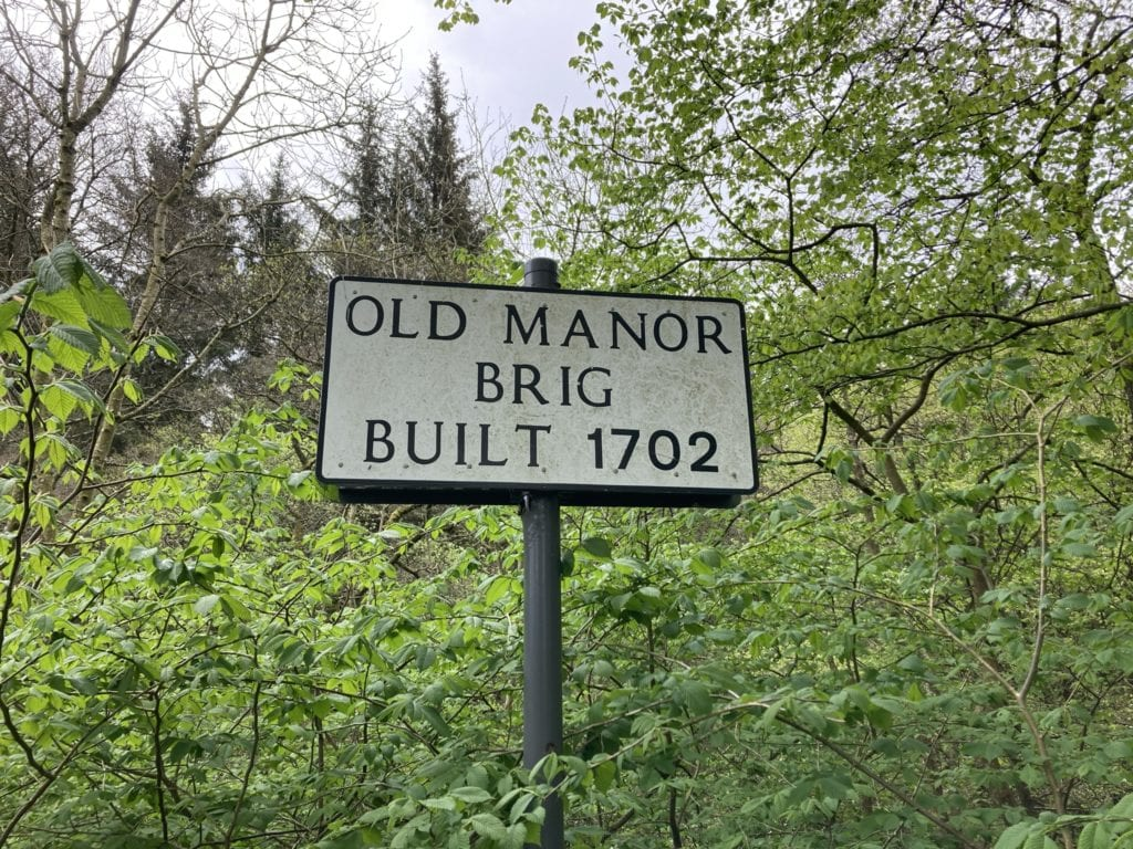 Sign for Old Brig