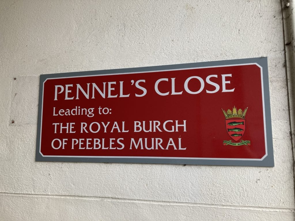 Street sign - Pennel's Close